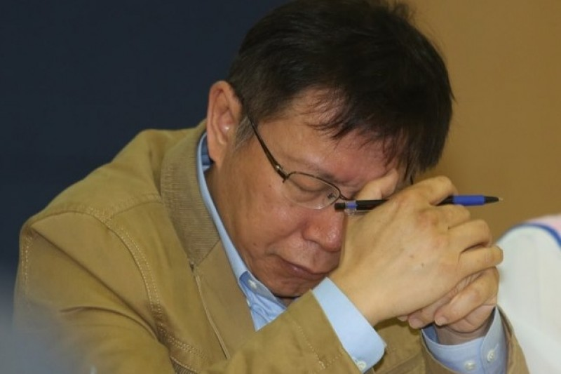 柯文哲對外發布政策歷時5個多月,11日推出最後一支柯P新政「警政治安」,揚言打造一支新的「台北市都市戰警」。(余志偉攝)