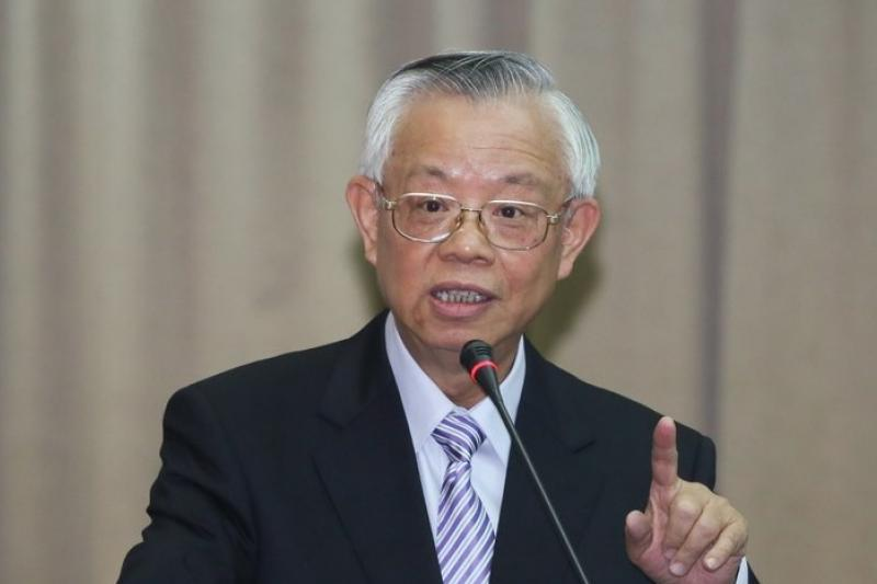 針對中韓簽署FTA,央行總裁彭淮南12日表示,是危機但也是轉機,台灣作為小型開放經濟體,必須融入世界市場。(資料照片,余志偉攝)