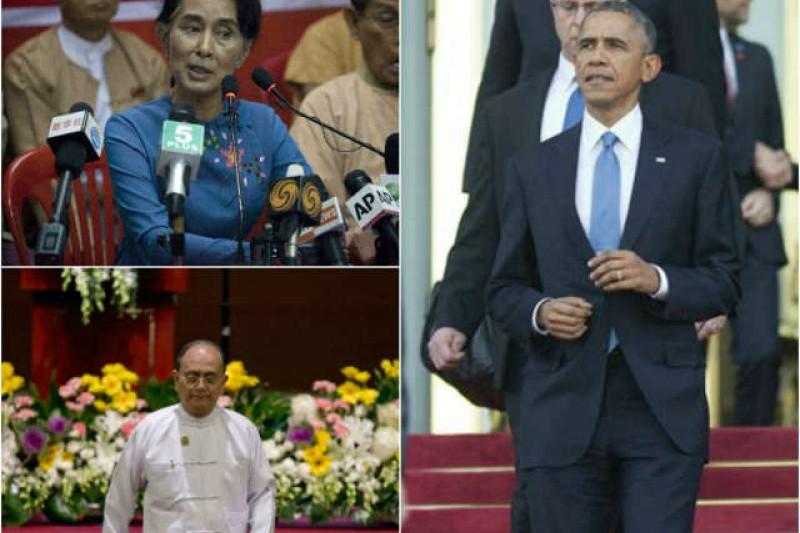 再次造訪,歐巴馬面對的是改革停滯的緬甸。(美聯社)