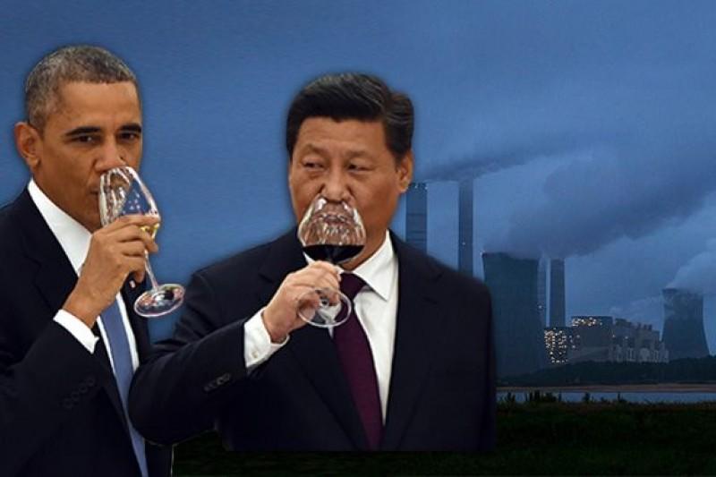 中美減碳協議,讓很多人感到哭笑不得。(圖片來源:美聯社,風傳媒重製)