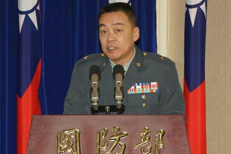 國防部訓練次長室軍事訓練處處長李兆明少將表示,所有的新兵通通都可以在11月29日返鄉投票。(蘇仲泓攝)