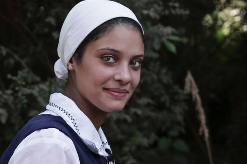 18歲的埃及少女拉泰布,勇敢向割禮說不。(美聯社)