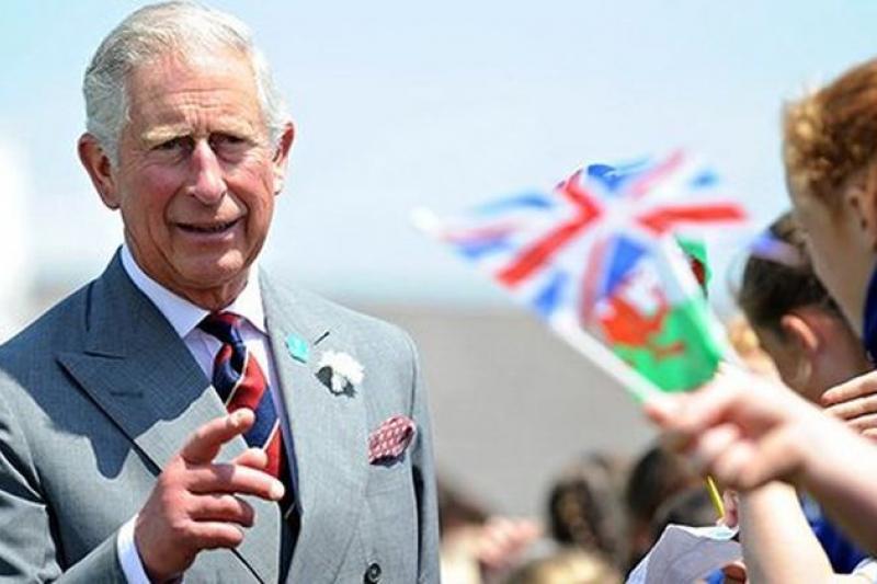 英國查爾斯王儲日前表明,繼位後將積極關心公共事務。(取自推特)