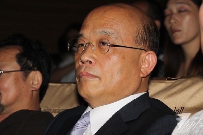 蘇貞昌1日在臉書發文表示,11月29日選舉,國民黨慘敗,他呼籲修憲,讓政府有效運作。(資料照片,葉信菉攝)