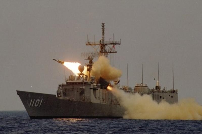 雄三超音速反艦飛彈試射成功,未來將進行量產。(中科院提供)