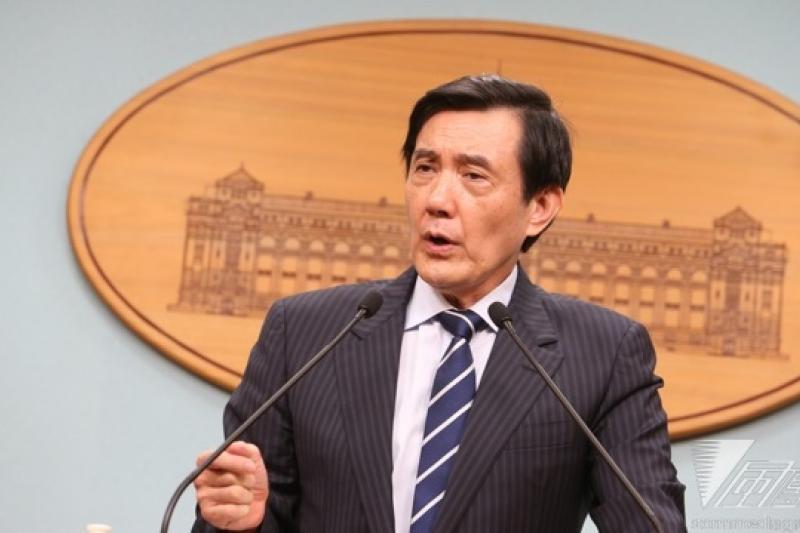 總統馬英九4日表示,最近幾次的內閣改組,他確實徵詢了彭淮南的意見,可惜均遭到拒絕。(資料照片,吳逸驊攝)