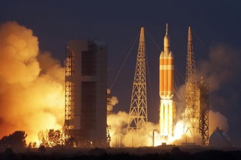 獵戶座(Orion)太空船發射,締造太空探險事業新猷(美聯社)