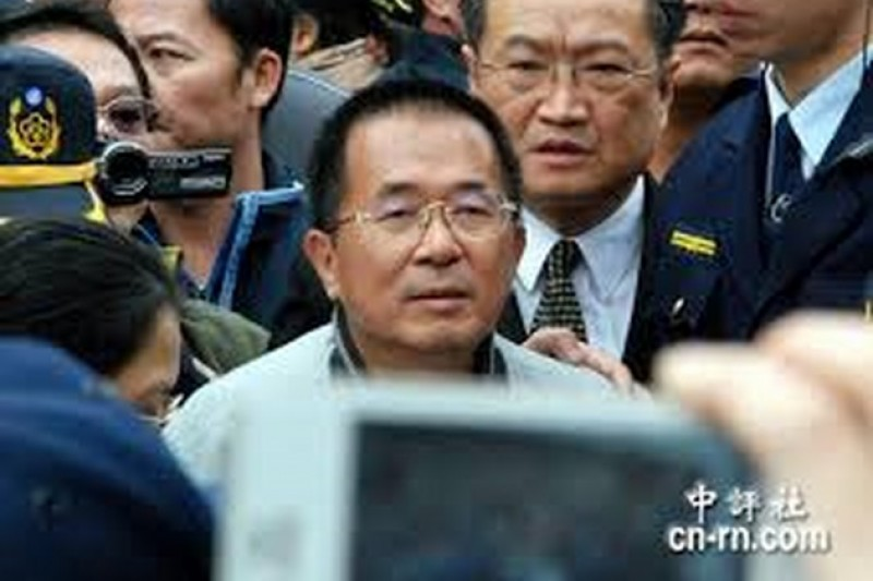 前總統陳水扁10日委託律師鄭文龍,再度向法務部提出保外就醫聲請。(中評社)