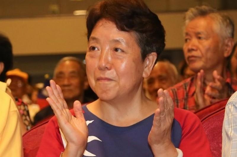 有意參選台北市大安文山區市議員的前立委謝啟大,23日出席新黨黨慶活動。(余志偉攝)