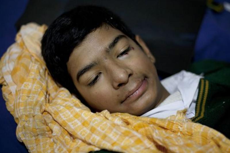 巴基斯坦極端組織神學士16日在一所學校大開殺戒,造成慘重死傷。(美聯社)