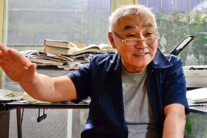 台灣人權促進會30周年,將舉辦募款餐會,台權會前會長、刺蔣案主角黃文雄特別站台宣傳。(取自政大網站)