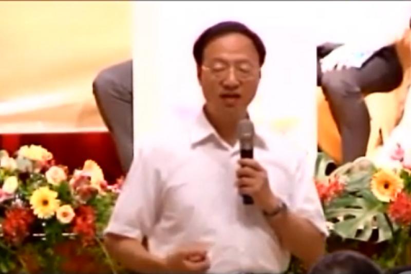 行政院長江宜樺已同意房地合一課稅的大方向。(截取自直播畫面)
