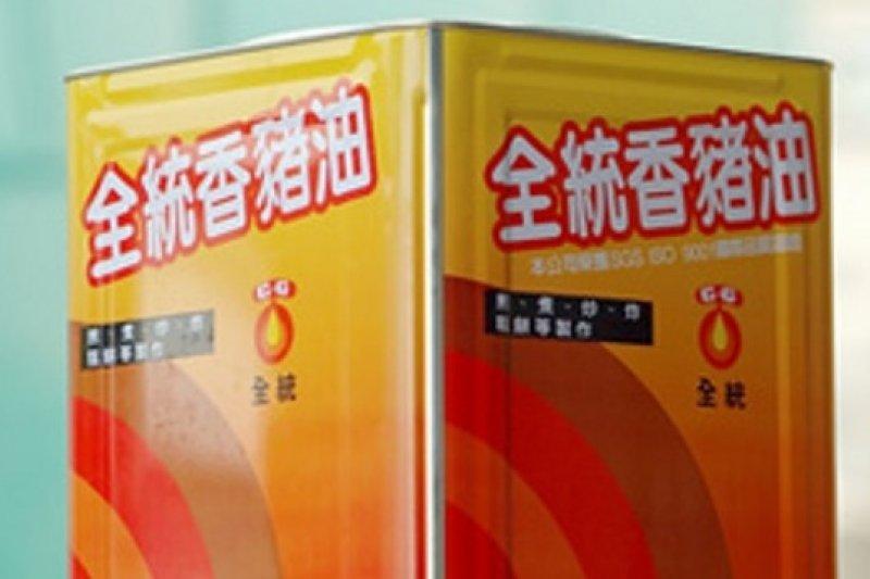 由於業者無法完全區隔放置香港進口豬油之油槽,除已公告的全統香豬油外,另新增24項疑摻香港「飼料油」的豬油商品。(取自強冠企業網站)