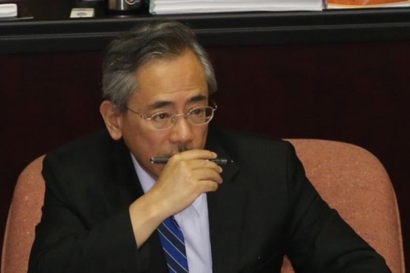 政院證實,邱文達向江表示願負政治責任,政壇揣測就是會辭職下台。(資料照片,余志偉攝)