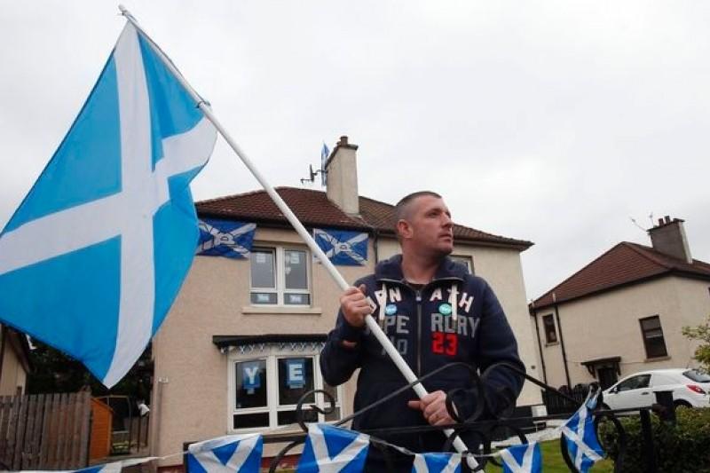 9月18日,蘇格蘭民眾將以公民投票決定是否建立一個新國家(美聯社)