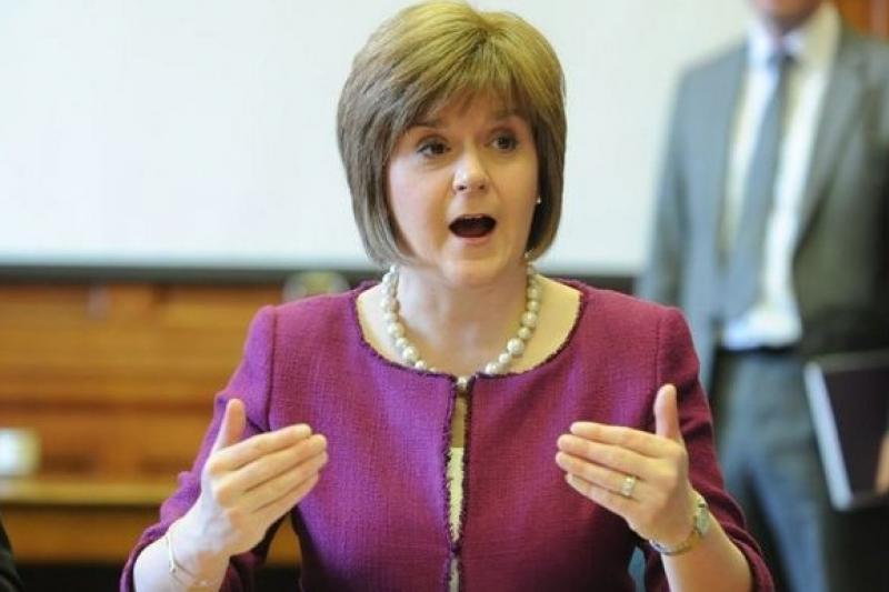 蘇格蘭政壇女傑史特金(取自網路)