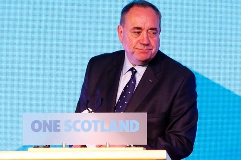 蘇格蘭自治政府首席部長、蘇格蘭民族黨領導人薩蒙德(美聯社)