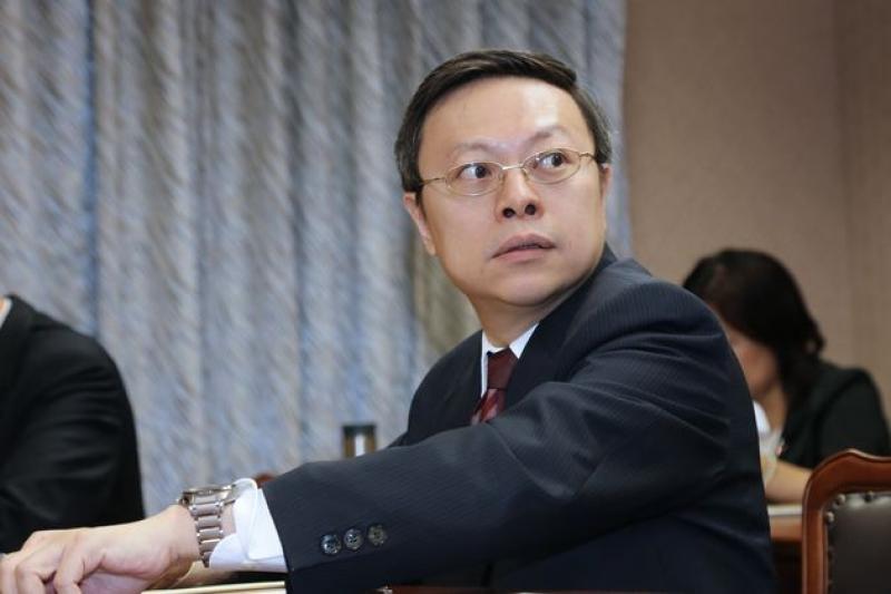 陸委會主委王郁琦22日立法院內政委員會備詢時承認,中國國台辦遞交APEC邀請函時,他在現場。(吳逸驊攝)