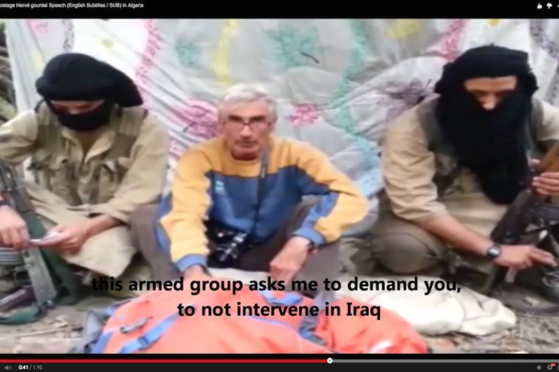 古德爾帶隊登山,卻成為IS恐怖勒贖目標。(影片截圖)