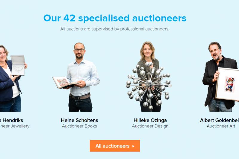 六成的團隊成員具備真實拍賣師資格,Catawiki 要為歐洲收藏玩家們打造美好的線上拍賣體驗