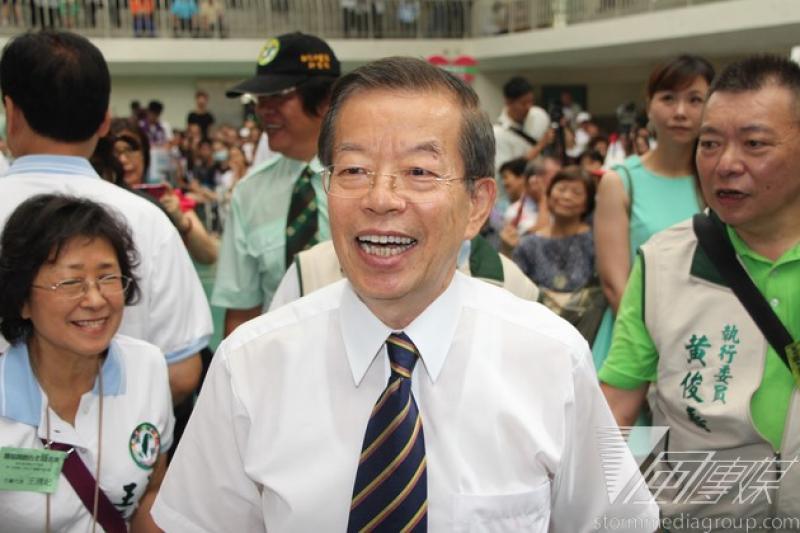 嘉義市長選情告急,民進黨趕忙請出最懂選舉的天王謝長廷出馬跨刀相助。(資料照片,葉信菉攝)