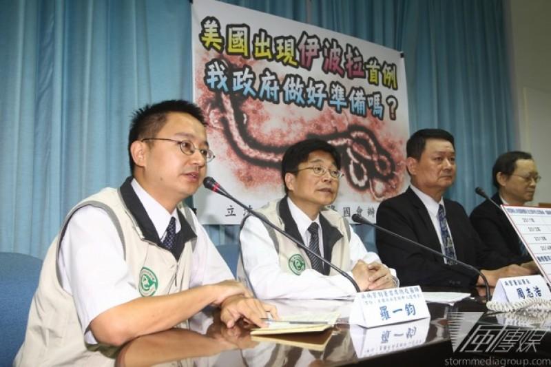 伊波拉疫情蔓延,美國出現首例確診病例,引發高度恐慌。台灣有2位醫師曾造訪疫區,第1線觀察疫情控制和發展。(吳逸驊攝)