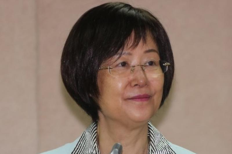 法務部長羅瑩雪8日表示,她身為佛教徒,贊同廢除死刑。(余志偉攝)