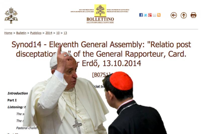 上帝對於同性戀者的心意究竟如何?教宗與樞機主教群一起尋求。(美聯社,風傳媒重製)
