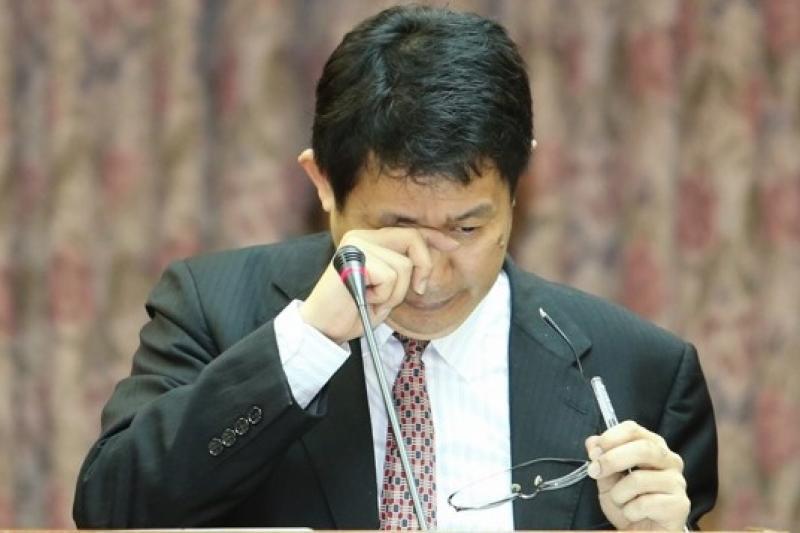涉嫌抄襲的前教育部長蔣偉寧遭到科技部倫理委員會停權三年的處分。(資料照/吳逸驊攝)