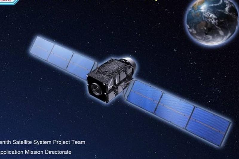日本太空事業發展的重點項目:准天頂衛星系統(取自網路)
