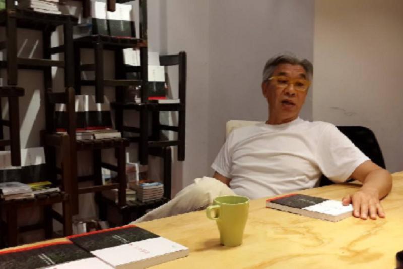 音樂人倪重華出任柯文哲市府文化局長,引發爭議,倪無奈表示,他只是被選的人。(取自倪重華臉書)