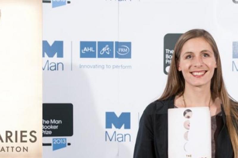 紐西蘭小說家女埃莉諾.卡頓以《發光體》摘下「曼布克獎」桂冠(取自網路)