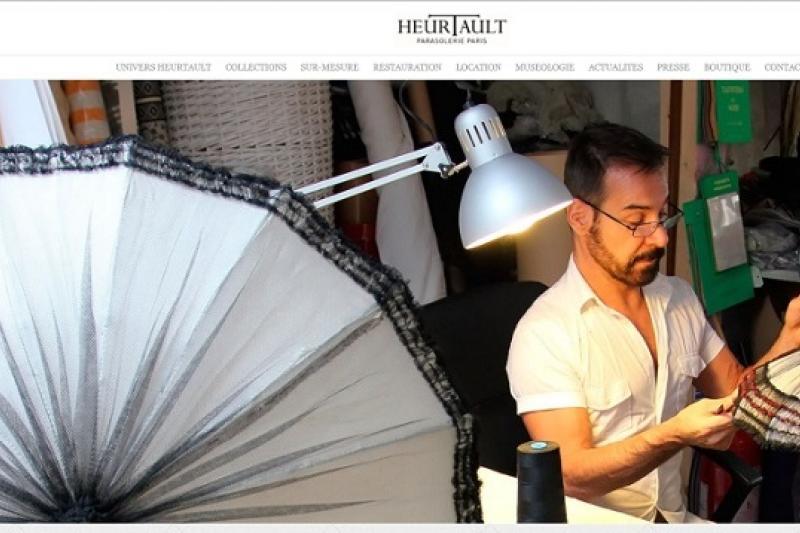 厄爾托在別緻的巴黎12區打造Heurtault手工製傘店(取自網路)