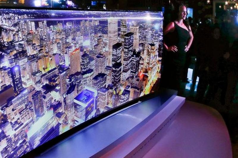 4K電視今年大舉進軍市場,亞馬遜將與三星合作。(美聯社)