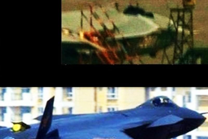 上圖為2011號殲-20,下圖為2001號殲-20。(取自網路)