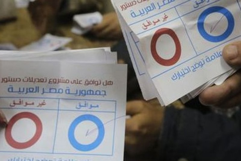 埃及新憲公投結果出爐,98.1%選民支持新憲法,但整體投票率不到4成。(取自網路)