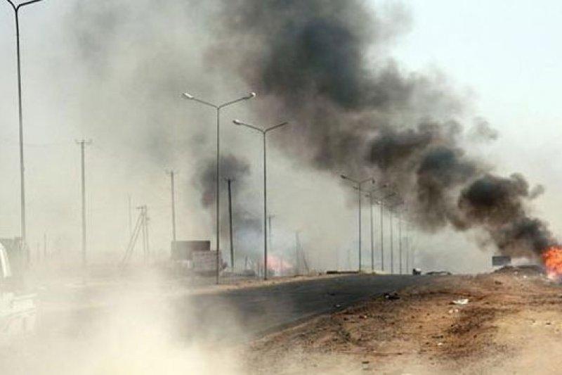 利比亞政府派出空軍維持薩巴治安,並宣布國家進入緊急狀態。(取自網路)
