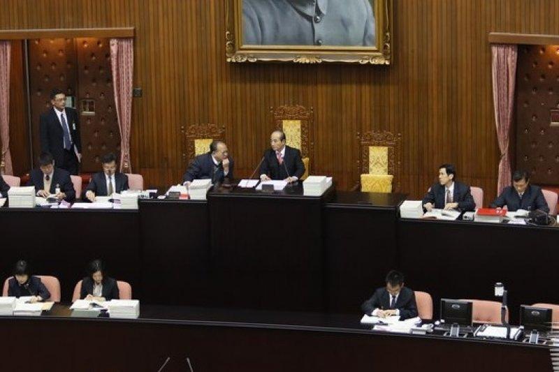 為了處理地政士法覆議案,立院朝野協商決定下周二舉行臨時會。(吳逸驊攝)