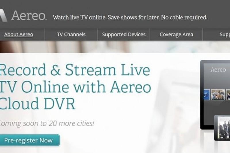 紐約新創科技公司Aereo即將在4月與美國廣播公司在最高法院對簿公堂(取自Aereo)