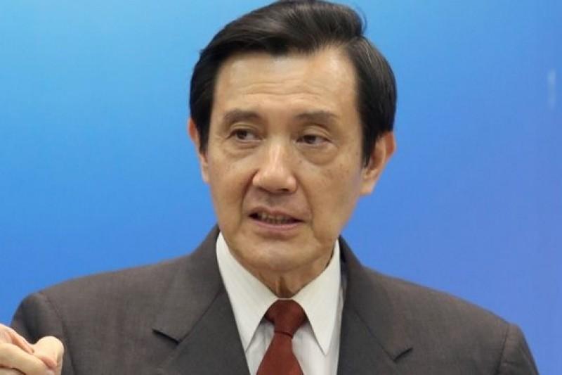 總統馬英九在國民黨中常會中重申,服貿協議未過關,將影響台灣加入區域整合。(吳逸驊攝)