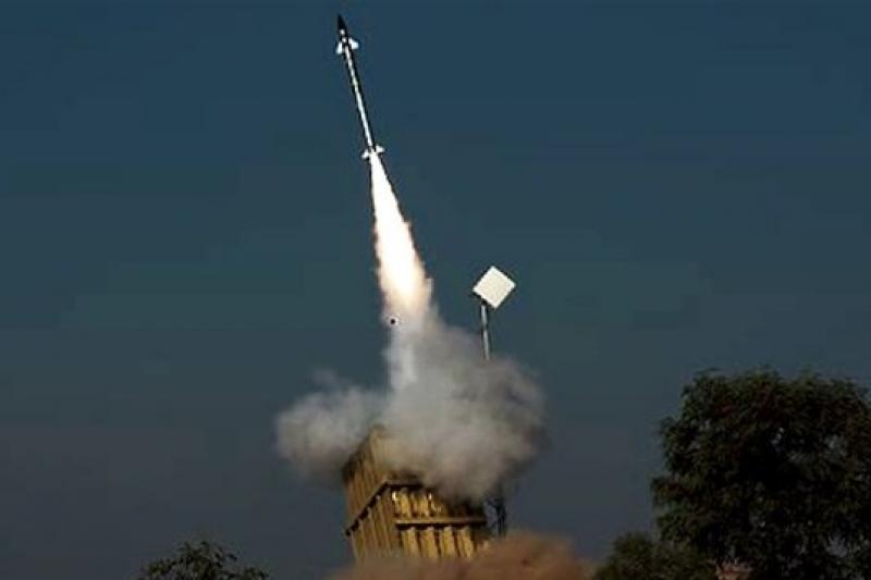 以色列最新研發的鐵光束防空系統將使以國空中防務更完整。(取自網路)
