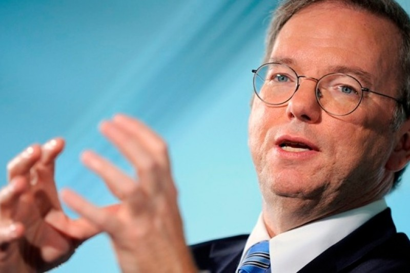 Google執行董事長施密特相信,更嚴密的編碼技術可以抵抗來自政府的監控審查(取自網路)
