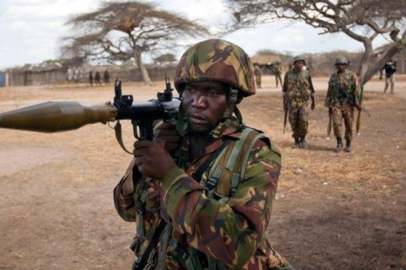東非索馬利亞近年恐怖活動猖獗,非洲聯盟出動部隊清剿。(美聯社)