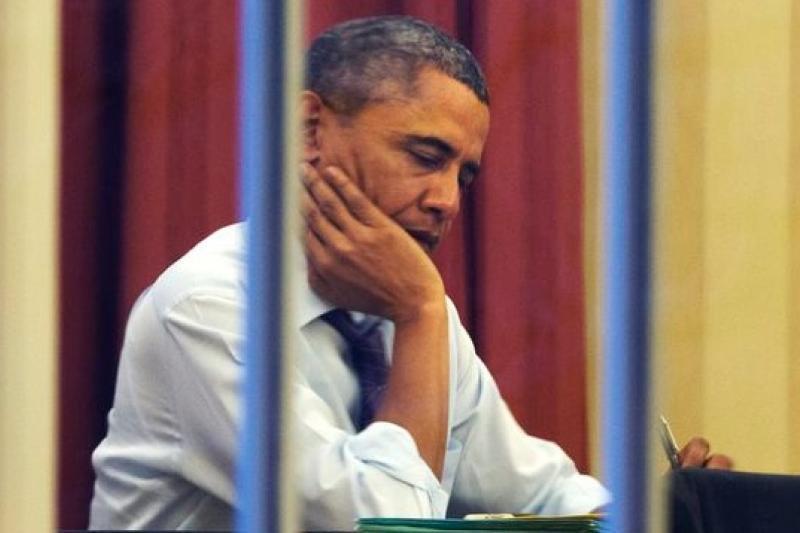 美國總統28日將發表國情咨文,但民調顯示68%美國民眾對未來感到悲觀。(美聯社)