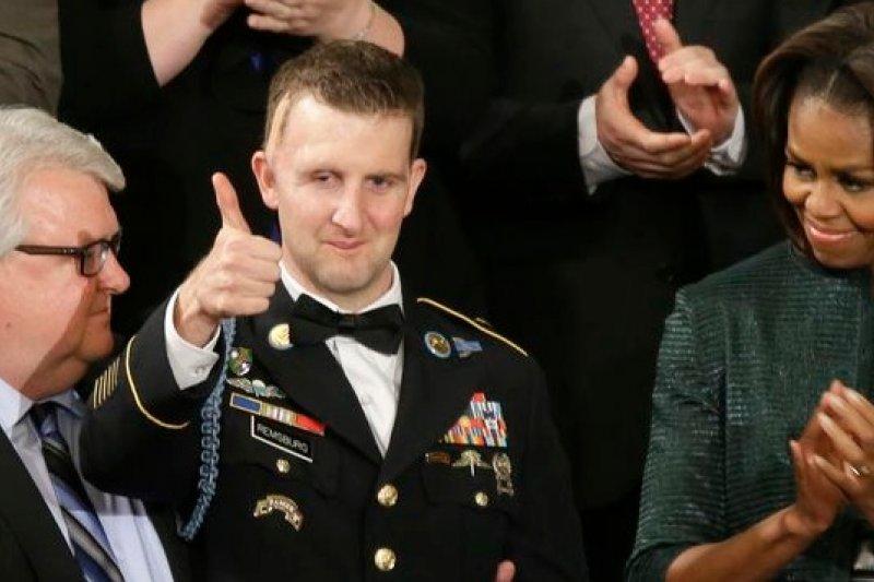 美國陸軍柯瑞倫斯堡2009年在阿富汗遭到炸彈嚴重炸傷(美聯社)