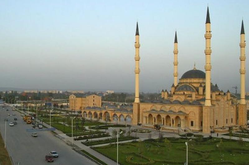 車臣獨立運動歷史悠久,圖為首都葛洛茲尼街景。(取自網路)