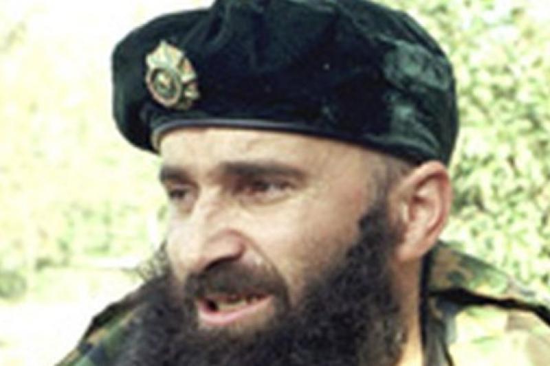 車臣游擊隊領袖巴沙耶夫開啟了第二次車臣戰爭。(取自網路)