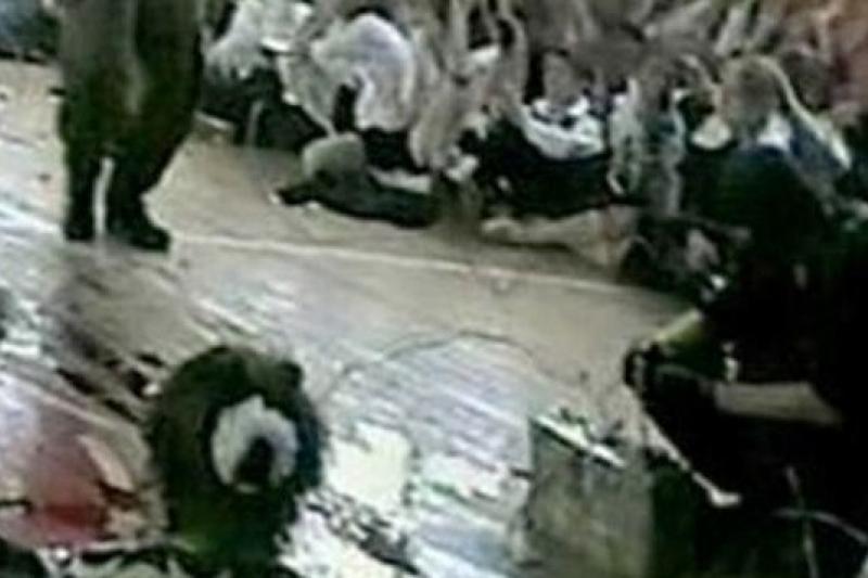 巴斯蘭第一學校的人質事件引起國際關注。(取自網路)