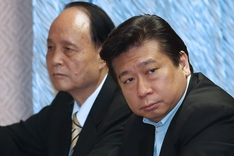 張顯耀以陸委會副主委兼任海基會董事長,預告海基會虛級化的開始。(吳逸驊攝)