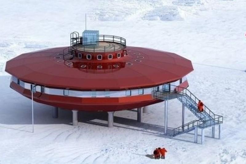 南極「泰山站」外觀。(取自網路)